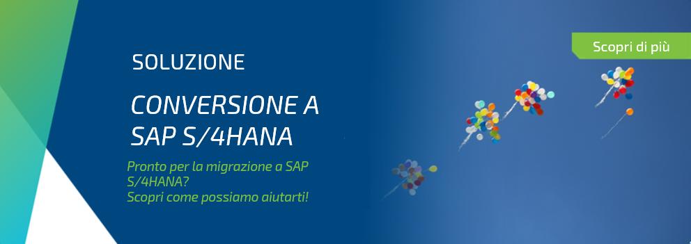 Conversione a SAP S/4HANA