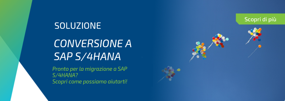 Banner_Conversione a SAP S4HANA