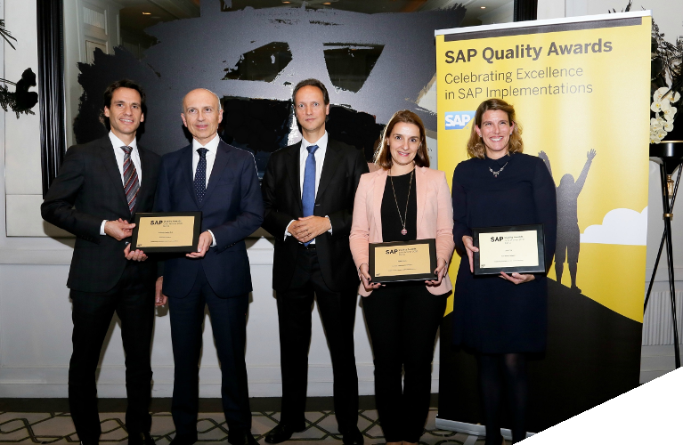 TECHEDGE, PREMIO GOLD EN FAST DELIVERY EN LOS SAP QUALITY AWARDS