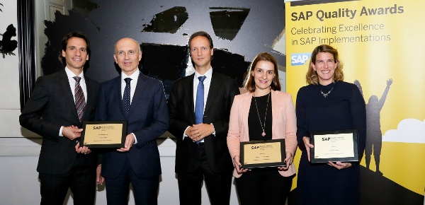 SAP Quality Awards 2016 Spain Gold Winners
