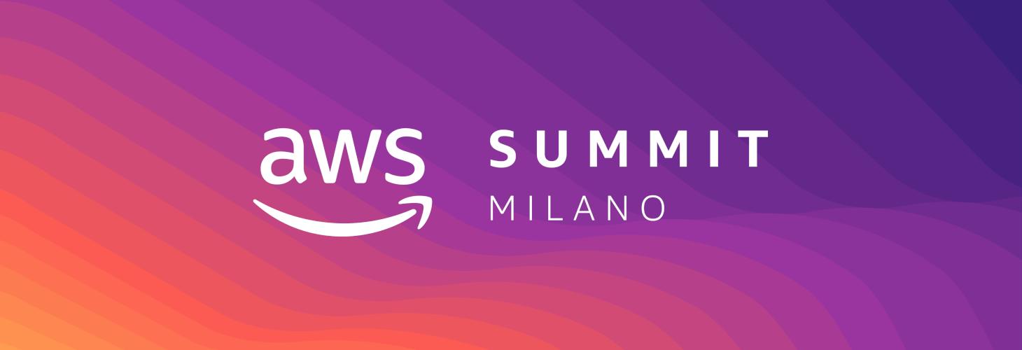 AWS Summit Milano - 12 marzo 2019