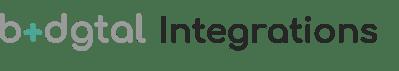 b+dgtal Integrations