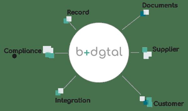 b+dgtal Suite Grafico