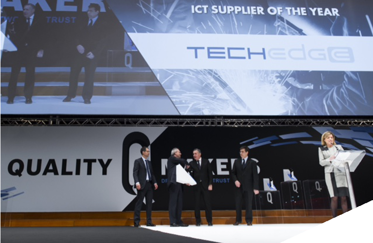 FCA Awards Techedge ICT Supplier of the Year