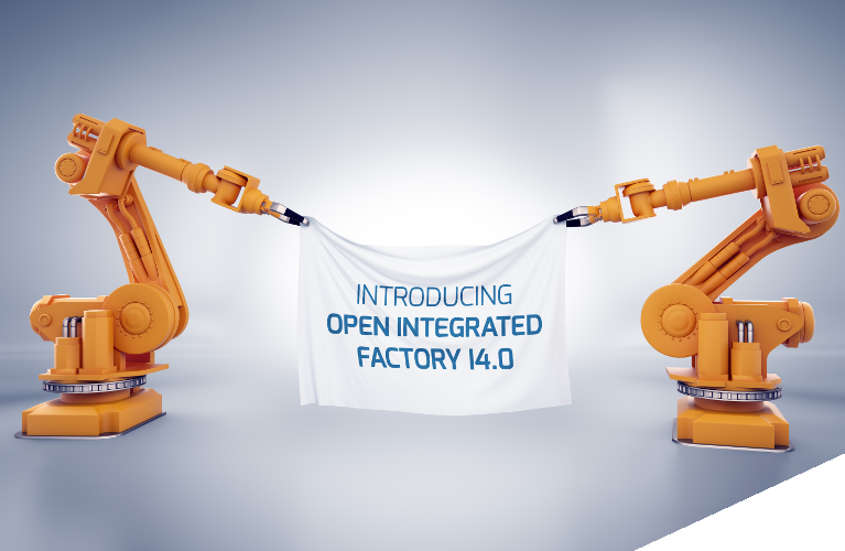 INTRODUCING OPEN INTEGRATED FACTORY I 4.0