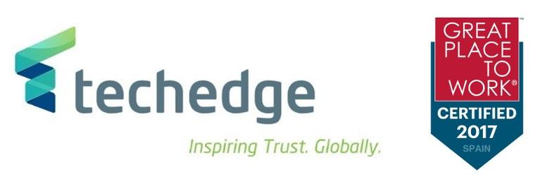 Techedge consigue la certificación Great Place to Work