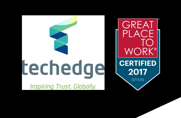 Techedge consigue la certificación de Great Place to Work®
