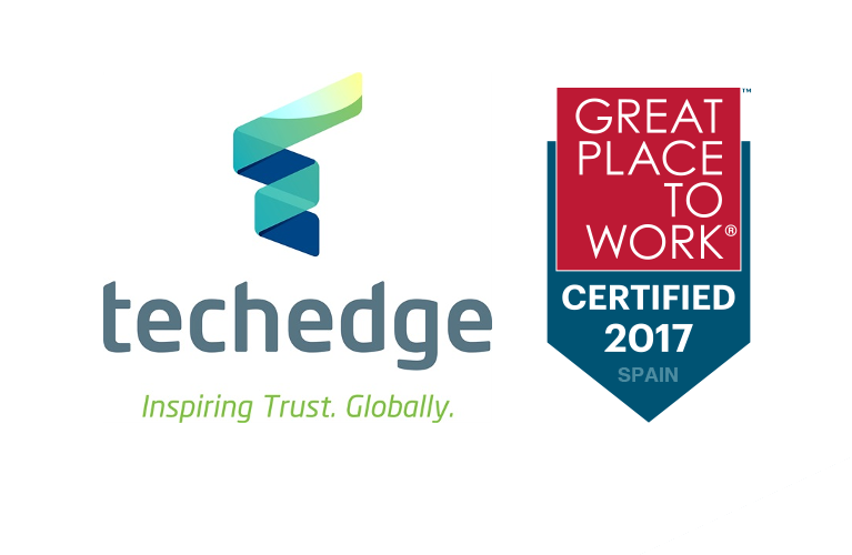 Techedge consigue la certificación de Great Place to Work®