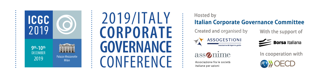 2019 Italy Corporate Governance Conference