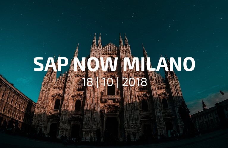 Techedge is a Main Sponsor at SAP NOW in Milan