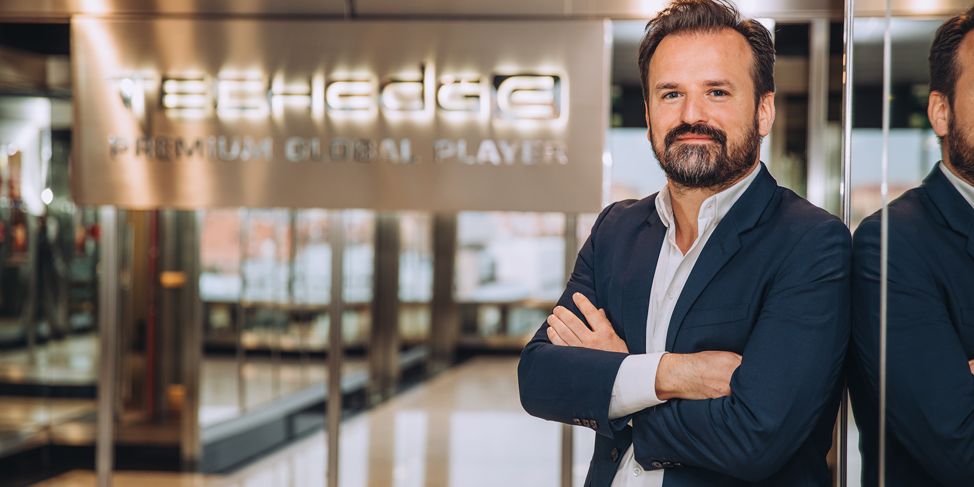 Daniel Valdés, CEO de Techedge España: