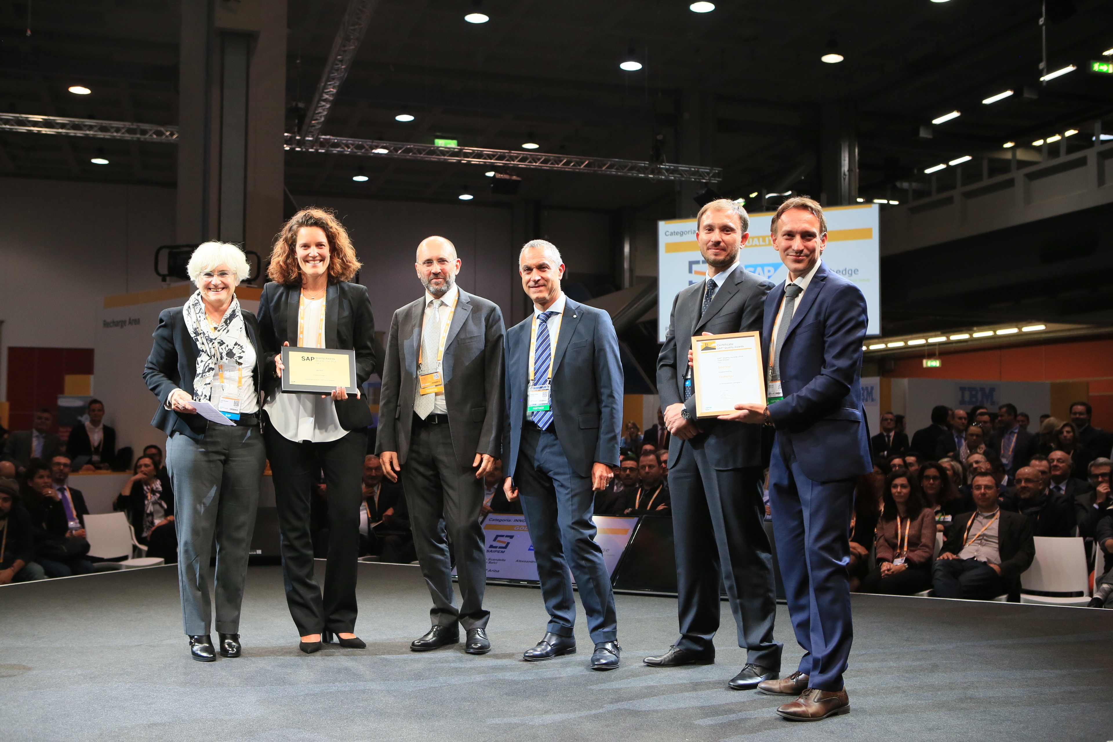 SAP Quality Awards: Techedge premiata nelle categorie Innovation e Business Transformation